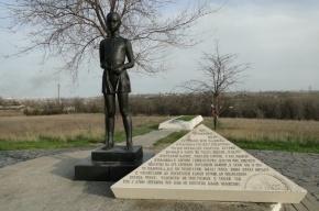 Под Волгоградом разрушился мемориал «Солдатское поле»