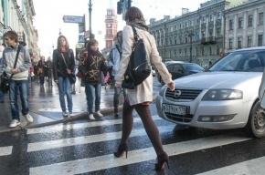 Инспектор ГИБДД сбил двух женщин на пешеходном переходе в Москве