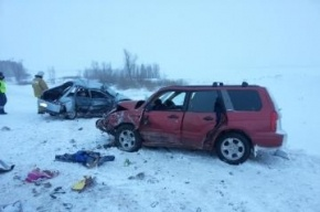 Четыре человека стали жертвами аварии под Оренбургом