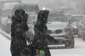 Москва встала в многокилометровых пробках из-за снегопада