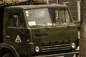В Дагестане на пути полицейского «КамАЗа» взорвался фугас