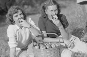 Яблоки снижают риск возникновения инфарктов