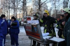 700 человек находились во время взрыва в здании института в Петербурге