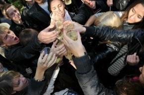 В Татьянин день полиция Петербурга закроет глаза на пьяных студентов