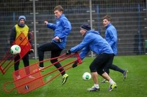 «Зенит» провел первую тренировку в Катаре