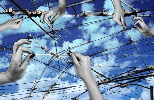 Небо Петербурга скоро будет не видно из-за проводов, но альтернативы нет