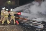 Пожар на Рязанском нефтезаводе 12.02.2014 года : Фоторепортаж