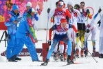 Фоторепортаж: «Российские лыжники в мужском спринте»