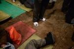 Фоторепортаж: «Палатки для бездомных »