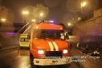 Фоторепортаж: «Автомобиль «Шевроле» упал с Литейного моста в Петербурге»
