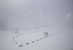 Туман в Сочи 17 февраля, масс-старт в очередной раз перенесен: Фоторепортаж