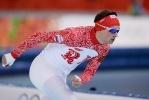 Фоторепортаж: «Российские конькобежцы, 1000 метров»