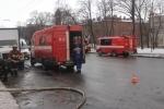 Из горящей квартиры в центре Петербурга эвакуировали 15 человек : Фоторепортаж