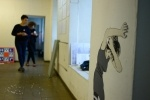 Выставка социальной графики против гендерного насилия: Фоторепортаж