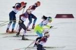 Российские лыжницы в женском спринте: Фоторепортаж