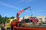 Борьба с автохламом в Приморском районе: Фоторепортаж