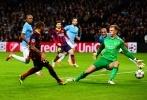 Фоторепортаж: «Манчестер Сити – Барселона, 18.02.2014: счет 0:2 в пользу «Барселоны»»