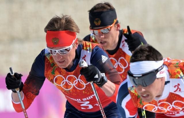 Эстафета, лыжи, мужчины, Олимпиада, 16.02.2014: Швеция первая, Россия вторая!: Фото