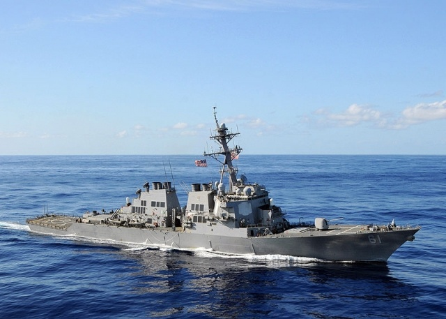 USS Ramage (DDG-61) and USS Mount Whitney (LCC-20): Фото