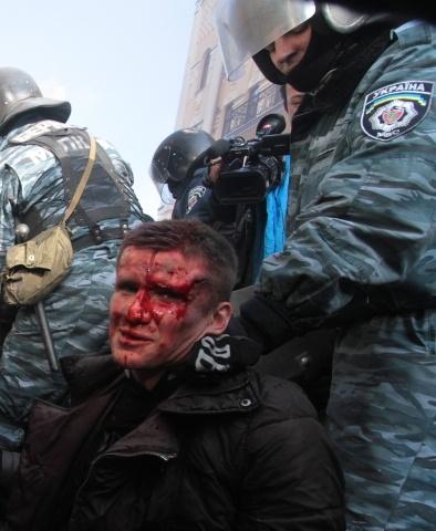 Беспорядки в центре Киева, майдан, евромайдан, 18 февраля 2014: Фото