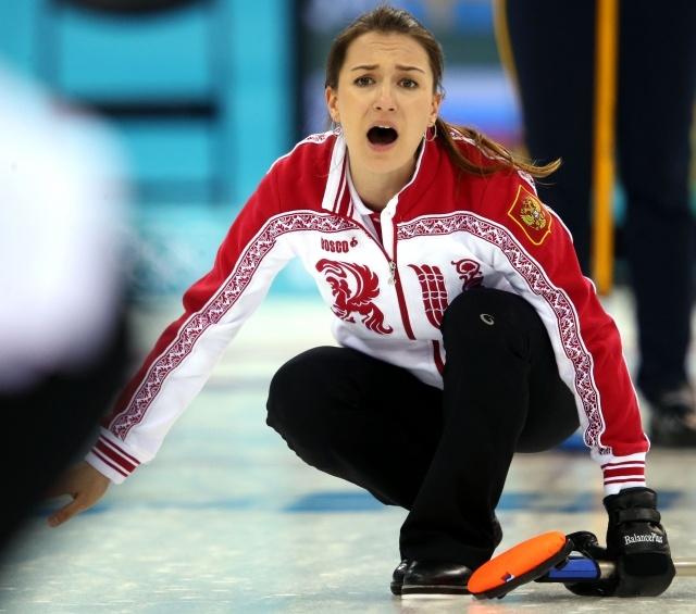 Российские керлингистки потеряли шансы на олимпийские медали: Фото