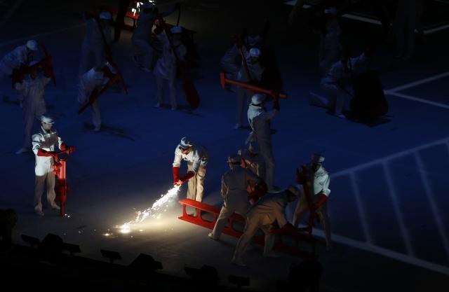 Открытие Олимпиады в Сочи 07.02.2014 (3): Фото