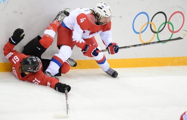 Россия – Швейцария, хоккей, женщины: счет 1:2 в пользу Швейцарии: Фото