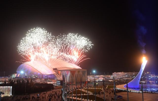 Церемония закрытия XXII Зимних Олимпийских игр в Сочи : Фото