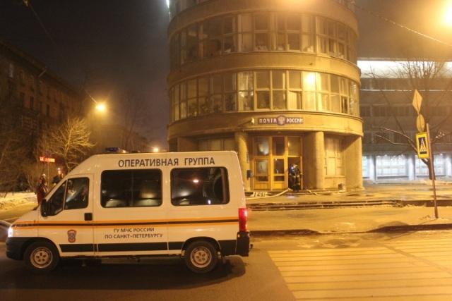 В здании администрации Кировского района горела «Почта России»: Фото