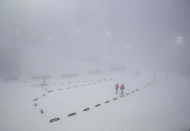 Туман в Сочи 17 февраля, масс-старт в очередной раз перенесен: Фото