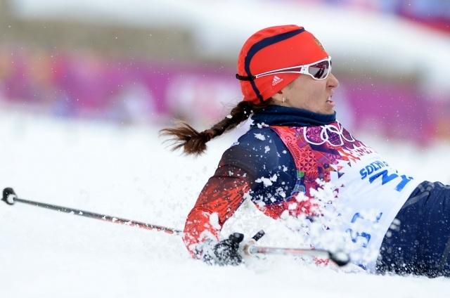 Российские лыжницы в женском спринте: Фото