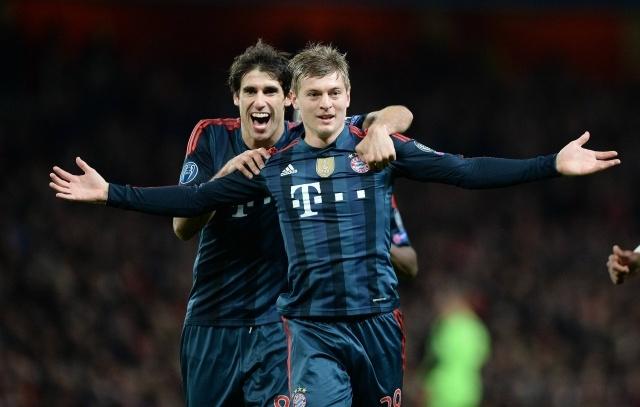 Арсенал – Бавария, 19.02.14, Лига чемпионов 2014: счет 0:2 в пользу «Баварии»: Фото