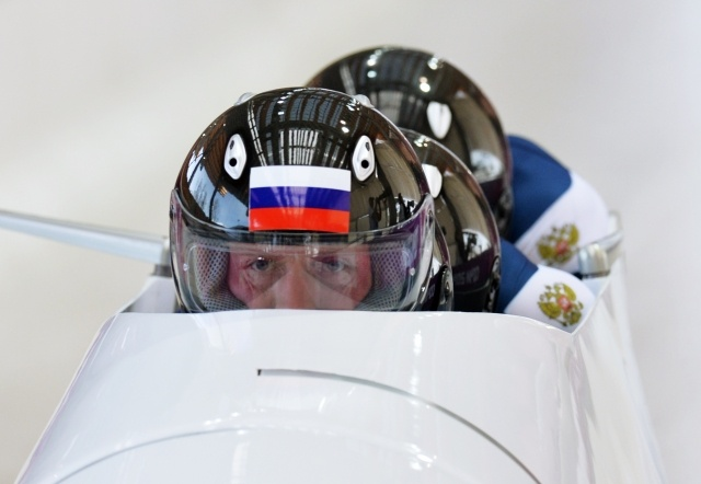 Бобслей, четверки, мужчины, Сочи 2014, команда Зубкова: Фото