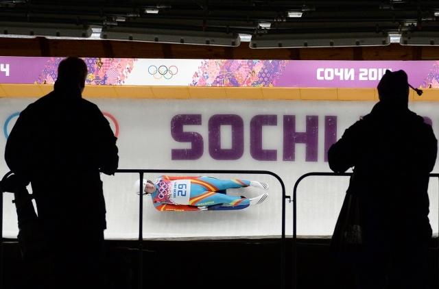 Олимпиада, мужчины, одиночные сани: Фото