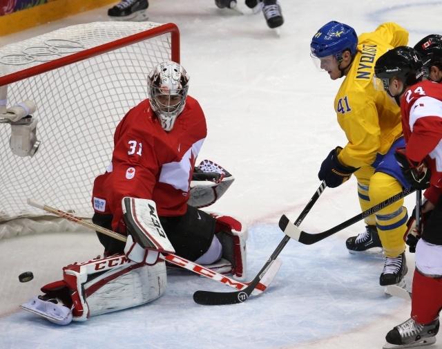 Швеция – Канада, финал Сочи 2014: Фото