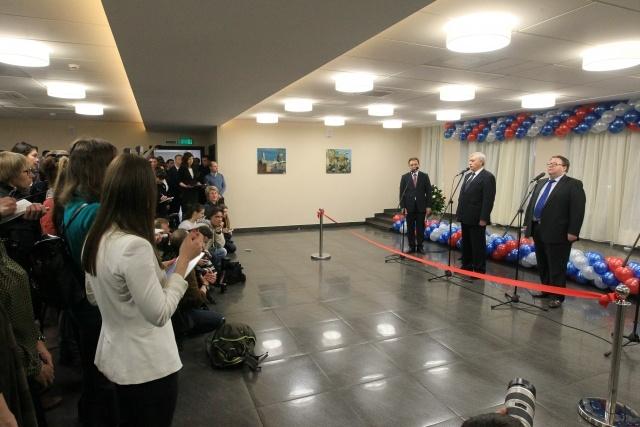 В центре Петербурга открыли новое здание Арбитражного суда СЗФО : Фото