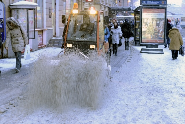 Уборка снега в Петербурге: Фото