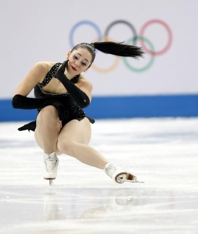 Олимпиада, фигурное катание, команды, женская короткая программа: Фото