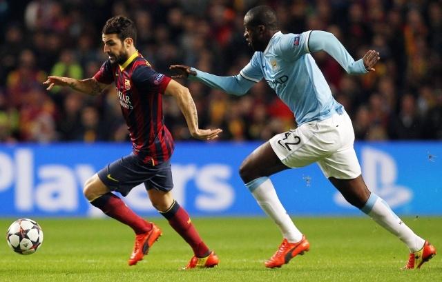 Манчестер Сити – Барселона, 18.02.2014: счет 0:2 в пользу «Барселоны»: Фото