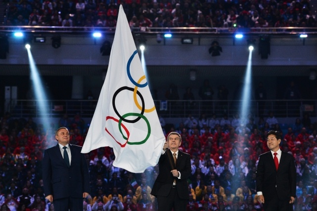 Церемония закрытия XXII Зимних Олимпийских игр в Сочи (3): Фото