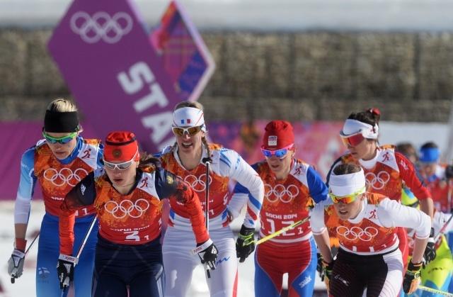 Лыжные гонки, эстафета, женщины, россиянки: Фото