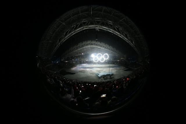 Открытие Олимпиады в Сочи 07.02.2014 (2): Фото