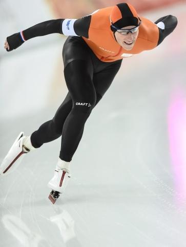 Олимпиада, мужчины, конькобежцы, 5000 м: Фото