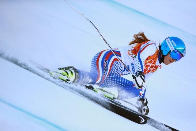 Мария Бедарева и Елена Яковишина, горные лыжи: Фото