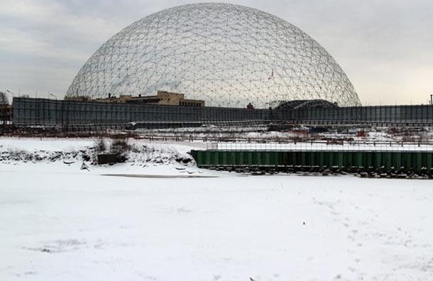 Просто парк или под куполом – что может появиться на Охтинском мысу