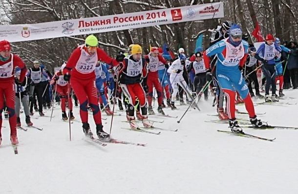 Петербургский этап «Лыжни России» прошёл в поддержку Олимпиады