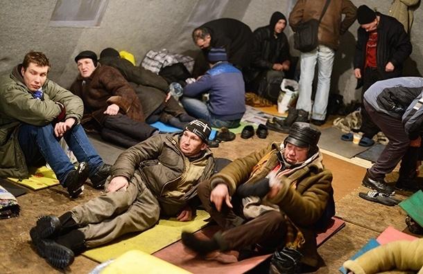 Где ночуют бездомные?