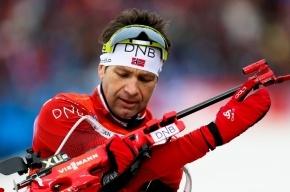 Бьорндален завоевал очередное олимпийское золото в биатлоне