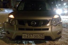 В Ленобласти машина районной администрации сбила мальчика