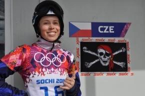 Сноуборд-кросс, женщины: Ева Самкова выиграла «золото» для Чехии